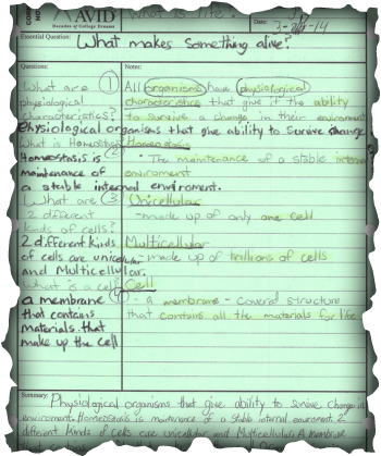 avid learning log template - avid madijohnson